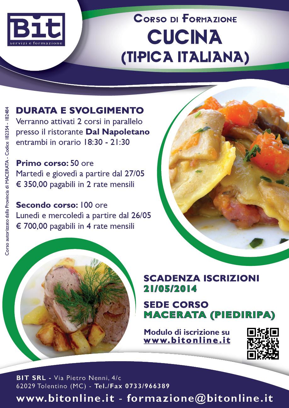 Corso cucina macerata piediripa - La cucina italiana corsi ...