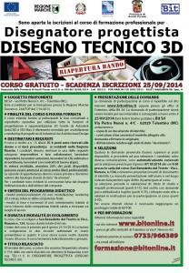 Corso gratuito tecnico progettazione 3d ascoli piceno for Progettista di ponti online gratuito