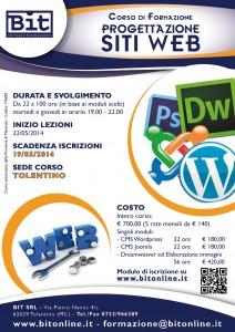 Corso progettazione siti web bit tolentino for Siti web di progettazione architettonica gratuiti