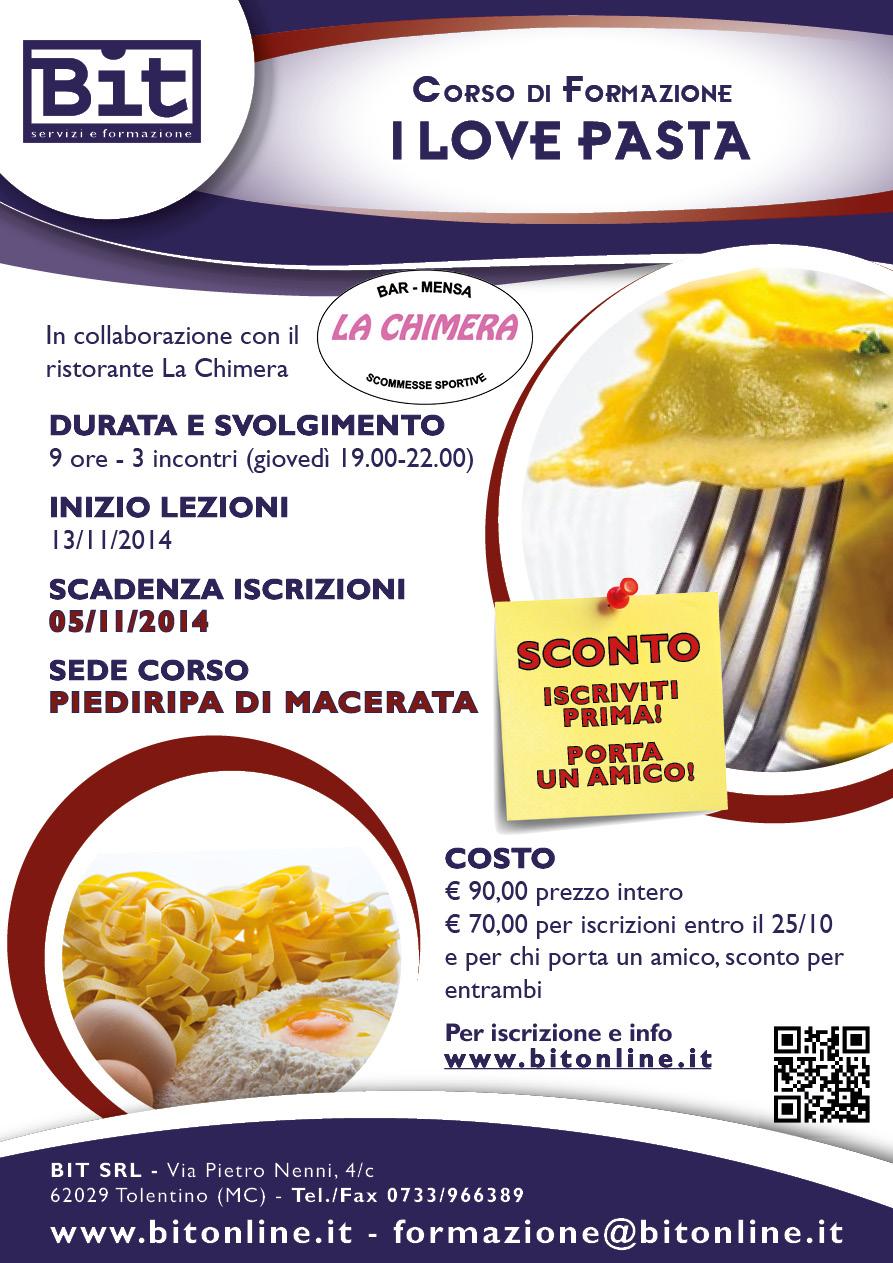 Corso cucina i love pasta - Corso cucina cannavacciuolo prezzo ...