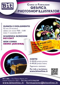 Corso Grafica (Photoshop e Illustrator)