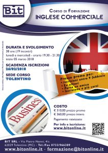 Corso inglese commerciale