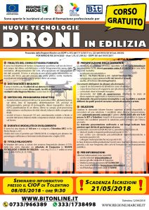 bando-corso-gratuito-utilizzo-droni-edilizia-fse-2018-bit